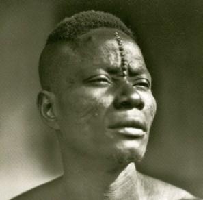 Zagourski detail  de  l'ethnie  Mbouaka (Ngbaka) prises entre 1929-1937 au Congo Belge