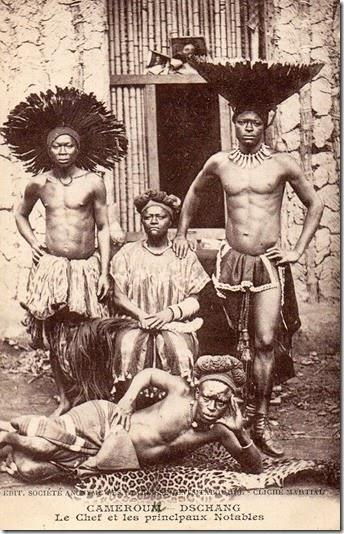 Re di Dschang postcard 1900