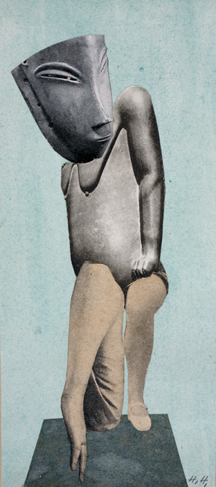 Collage by Hannah Höch 1924