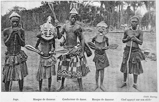 1907 les bakubas Harroy Fd
