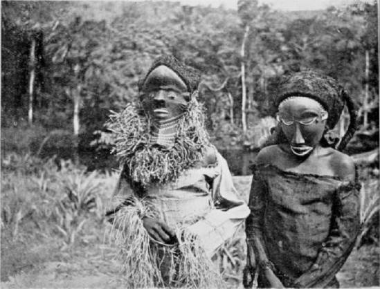 Pende Masqueraders, Emil Torday. Published  John Mack Emil Torday and the Art of the Congo. Seattle - London n. d., p. 35.