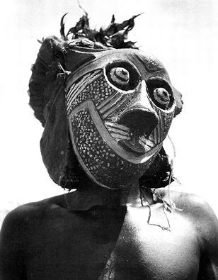 Bakuba tribesman of Kasai Province, Belgian Congo, 1947 by Eliot Elisofon