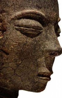 Head Akan terracotta