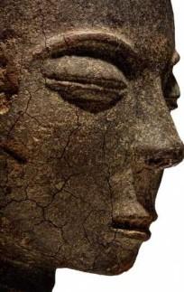 Head Akan terracotta