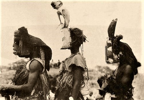 Michel Leiris, Dogon masks, Mali, 1934