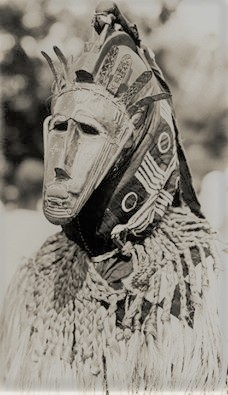 Bamana Ritual, Mali, Early 20th Cen, Photographer Unknown.