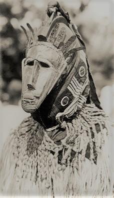 Bamana Ritual, Mali, Early 20th Cen, Photographer Unknown.