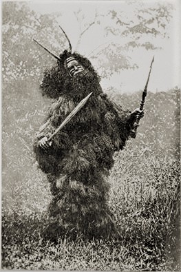 West African Shaman c. 1904, photo by Robert Hamill Nassau