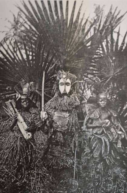 Fang Ngil Mask, Gabon, date and photographer unknown