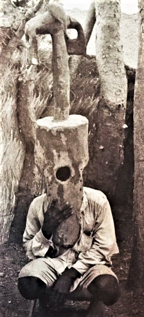 1970 foto Rubin M At Ucla Zinna village