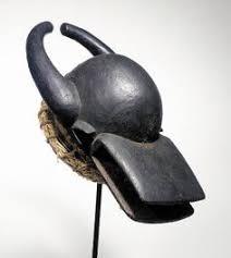 Chamba mask femminile nera