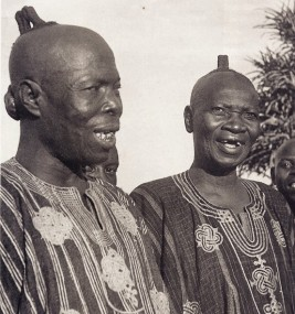 YorubaMessaggeri reali d'Oyo, Photo Pierre Verger 1950 ca