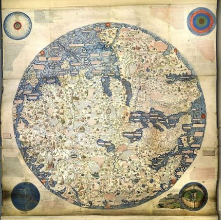 Fra Mauro World Map c.1450